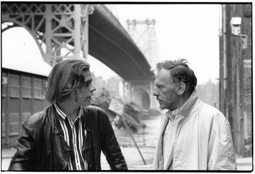 "Jacob Berger and Jean-Louis Trintignant,"" ""La vallée fantome"""