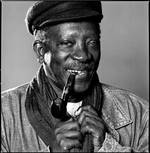 Ousmane Sembène, NYC,4/17/90
