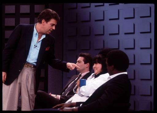 The Morton Downey Jr. Show, Secaucus, NJ, 4/88