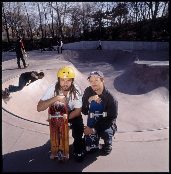 Tony Alva and Stacy Peralta, Bay Ridge, 4/11/01
