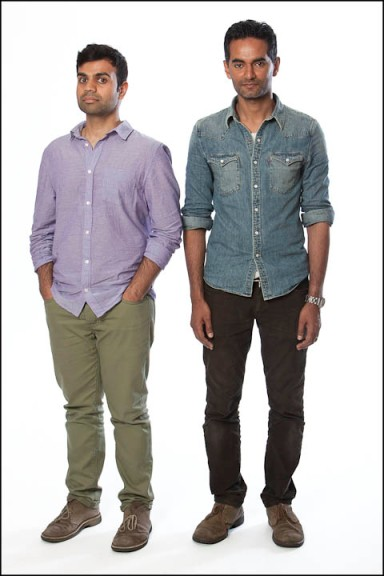 Omar Mullick and Basam Tariq, NYC, 6/11/13