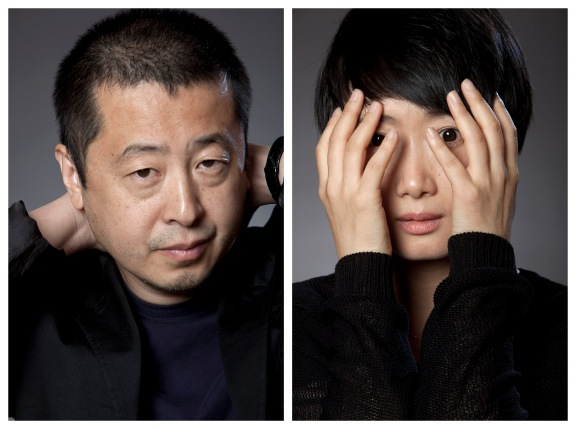 Jia Zhangke and Zhao Tao, NYC. 10/3/13
