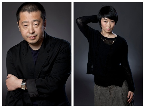 Jia Zhangke and Zhao Tao, NYC, 10/3/13