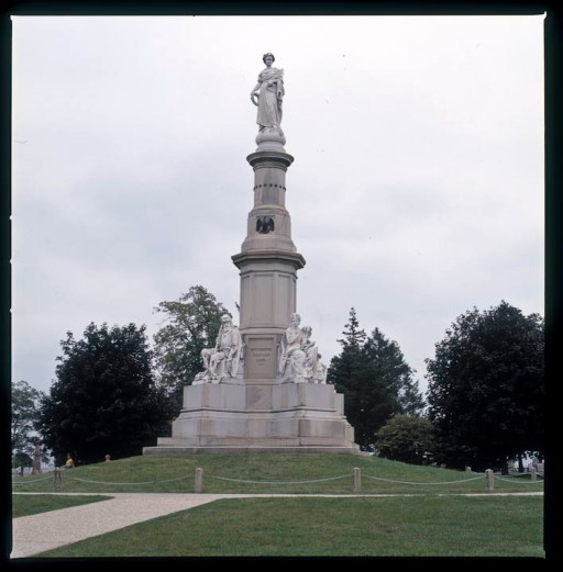 Soldiers' National Monument, Gettysburg National Military Park.  (In a relatively small Civil War controversy, the monument, supposed to mark the site where Lincoln delivered the Gettysburg Address, does not.  Rather, the best available evidence, including photographs, locates the speakers' platform approximately 30 yards to the east.)