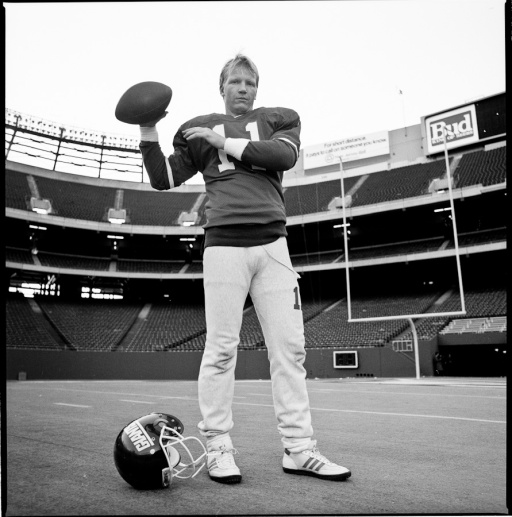 Phil Simms, Giants Stadium, 12/5/86