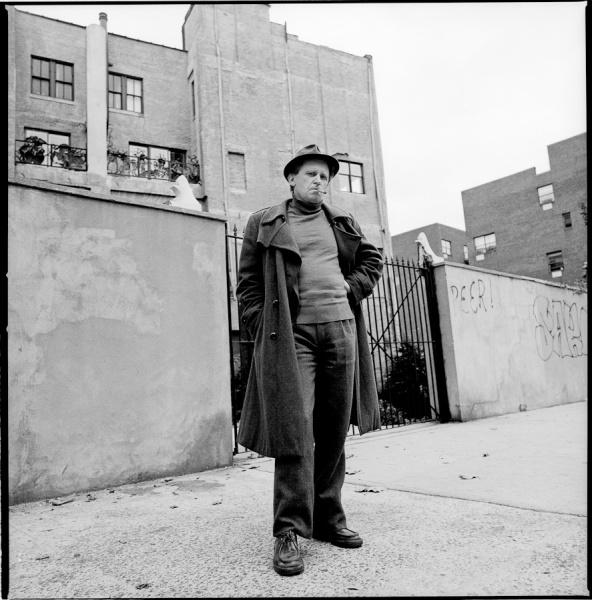 Jean-Marie Straub, NYC, 11/12/82