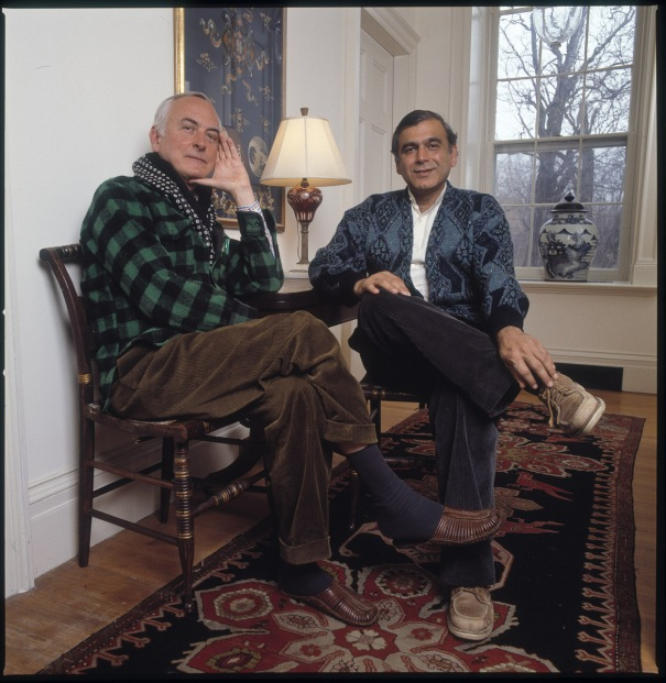 James Ivory and Ismail Merchant, Claverack, NY