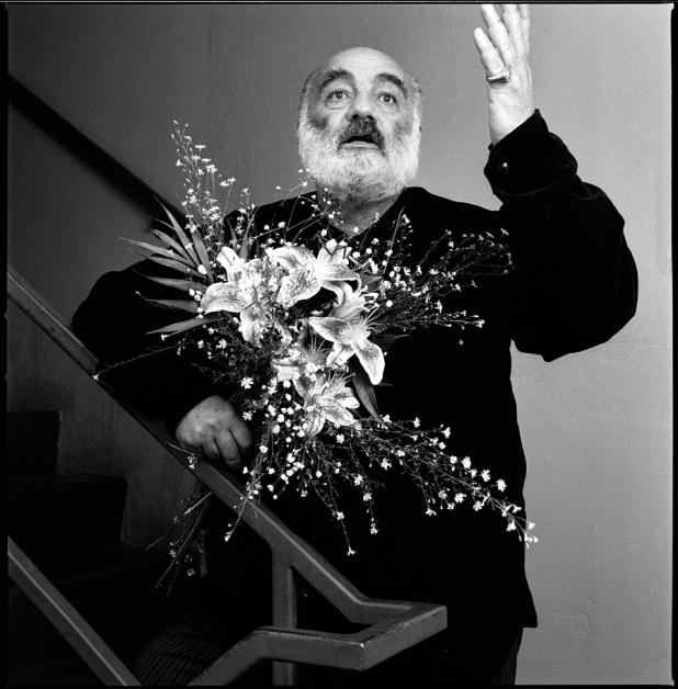 Sergei Parajanov, NYC, 10/88