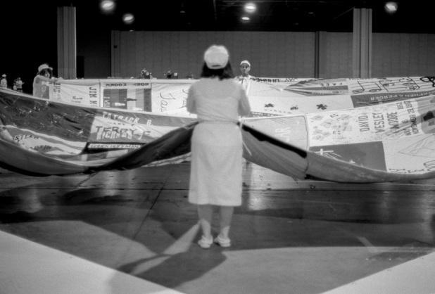 The AIDS Memorial Quilt, Georgia World Congress Center, Atlanta, May 1988