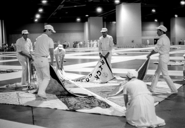The AIDS Memorial Quilt, Georgia World Congress Center, Atlanta, May 1988
