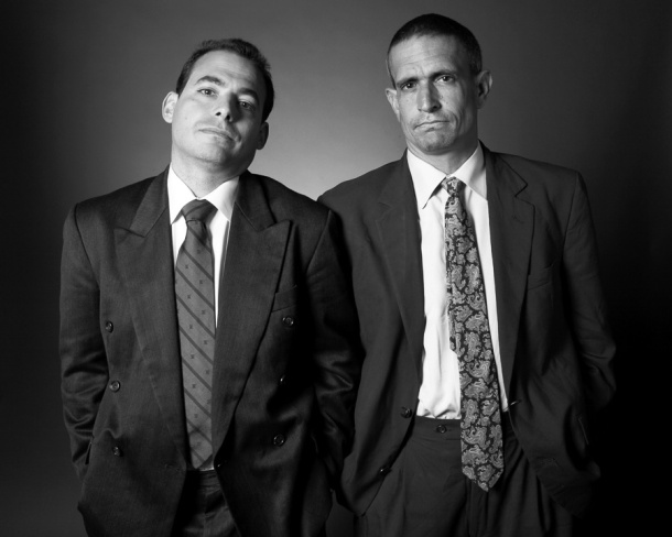 The Yes Men (Mike Bonanno and Andy Bichlbaum)