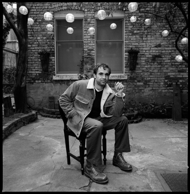 Karim Aïnouz, NYC, 4/4/03