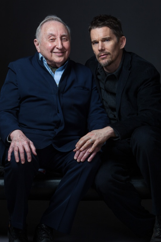 Seymour Bernstein and Ethan Hawke, NYC, 2/19/15