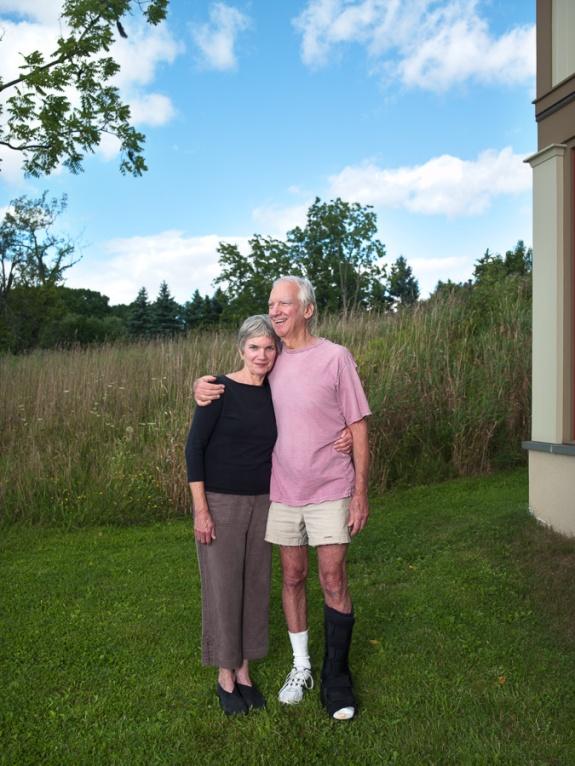 Priscilla Derven and Steve MacDonald, High Falls, NY