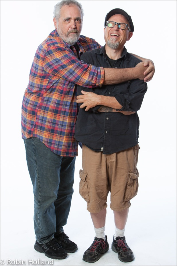 Barry Crimmins and Bobcat Goldthwait, NYC, 6/24/15