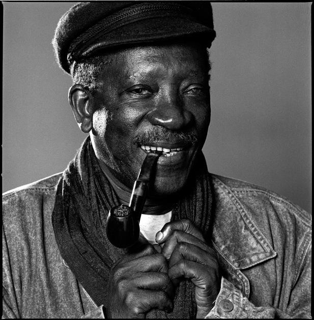 Ousmane Sembene, NYC, 4/17/90