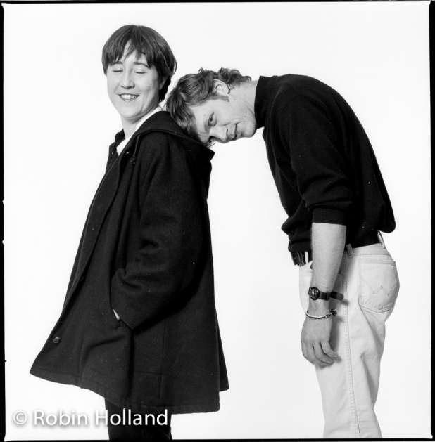 Christine Vachon and Todd Haynes, NYC, 3/19/91