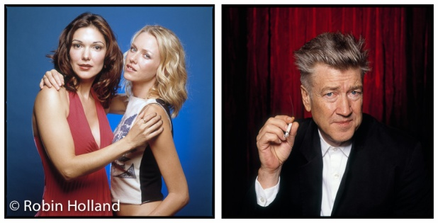 Laura Elena Harring and Naomi Watts; David Lynch