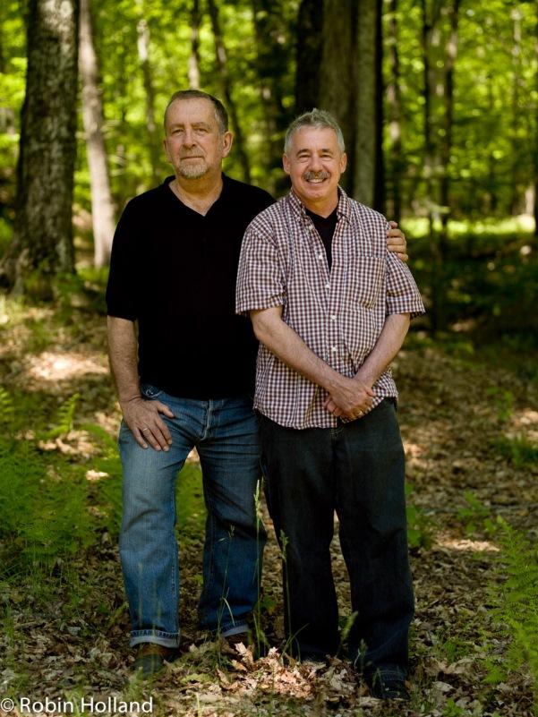 John Perreault and Jeff Weinstein, Stone Ridge, 5/25/08