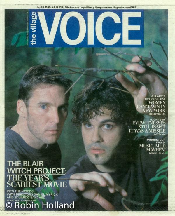 Daniel Myrick and Eduardo Sanchez, NYC, 7/11/99