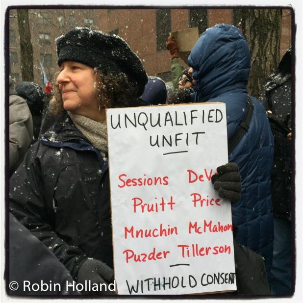 #ResistTrumpTuesdays, NYC, 1/31/17