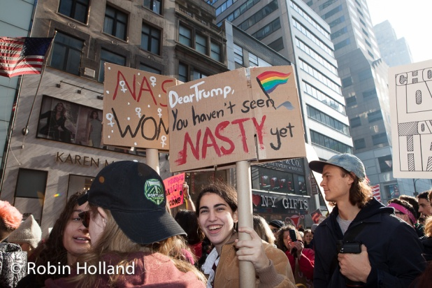 Women's March on NYC, 1/21/17